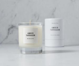 Makana Petite Candle 3 oz. -- Amber Tarragon